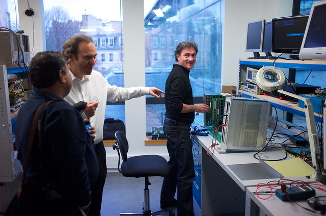 Visit to Iliad/free.fr offices in Dec11 with Xavier Niel and Om Malik