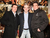 Jockeys Barry Geraghty, Ruby Walsh & Davy Russell at the Irish Premiere of 'War Horse' in the Savoy Cinema, Dublin. Opens at cinemas across the country Friday 13th. Photo: Anthony Woods