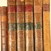 197. Antique Leather Bound Books