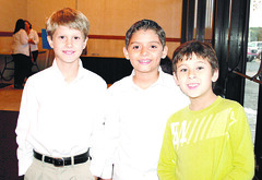 Shon Ford, Patricio Gomez y Alejandro Vela