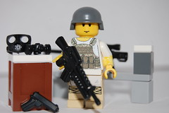 Mercenary (Jaf bricks) Tags: paint lego proto brickarms