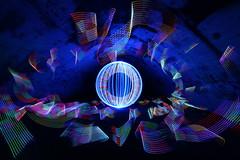 Big orb in the cully (- Hob -) Tags: longexposure blue red lightpainting green orb led nophotoshop rgb cully lightsphere inthetunnel singleexposure sooc citylites 光绘 光の絵画 wwwfacebookcompageslightpaintingorguk517424921642831 何後処理ん 无后处理