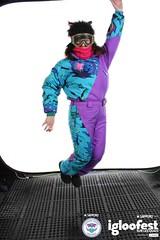 igc1820 (onesieworld) Tags: girls ski sexy bunnies fashion one shiny contest retro suit 80s piece nylon 90s kinky 2012 snowsuit onesie skisuit igloofest