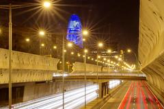 Gran Vía & Torre Agbar / Gran Via & Agbar Tower (german_long) Tags: barcelona españa spain granvía 2011