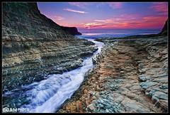 Cracker Jack [Explored] (Aaron M Photo) Tags: ocean california winter sunset sky santacruz beach water clouds nikon waves pacific crack pacificocean davenport westcoast davenportbeach siliconvalleyphotography aaronmeyersphotography davenportcrack