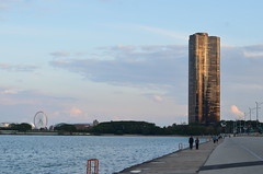 """Golden Hour at Lake Pointe Tower."" \2011 Photo Hobby - Published\2011-09-24 Chicago Walk 084.JPG (atramos) Tags: chicago 5star lakepointetower folders2flickr 2011photohobbypublished"
