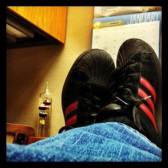 Feet Up Friday! (The Rocketeer) Tags: square squareformat hefe futab feetuptakeabreak iphoneography instagramapp uploaded:by=instagram foursquare:venue=4ca72ff9b0b8236ad866a6e6