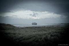 Aztec Maiden @ Wijk aan Zee 8 (Wilco Schippers) Tags: strand zee wijkaanzee vrachtschip ramptoerisme vastgelopen gestrand vlotgetrokken ramptoeristen aztecmaiden