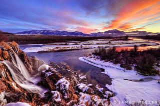 Fall Creek at Sunrise