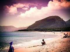 Close Sunset (MR photography.) Tags: ocean blue sea summer people cloud mountain plant tree green beach nature water kids photoshop canon project children eos rebel sand europe waves hill meadow sunny days adobe 365 t3i 600d itslegitx