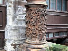Finely Detailed Pillar (the justified sinner) Tags: building sandstone minolta glasgow pillar panasonic mc g1 24 28 ornate rokkor vfc justifiedsinner