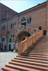 Stairs in Verona (Stefan Cioata) Tags: old summer vacation italy holiday tourism beautiful stairs photography photo europe stair italia image sale great stock best explore verona getty venetian top10 available outstanding veneto persepctive arhitecture torist