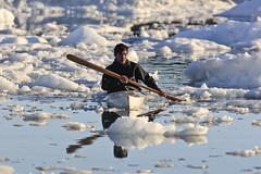 "Inuit im Kajak, Eisfjord, Ilulissat, Westgrönland • <a style=""font-size:0.8em;"" href=""http://www.flickr.com/photos/73418017@N07/6747937121/"" target=""_blank"">View on Flickr</a>"