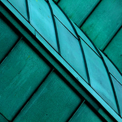 Untitled #6 (PeteZab) Tags: uk greatbritain roof england abstract green education university gallery squareformat canoneos50d lakesidepavilion canonefs55250mmf456is petezab peterzabulis texturenottingham