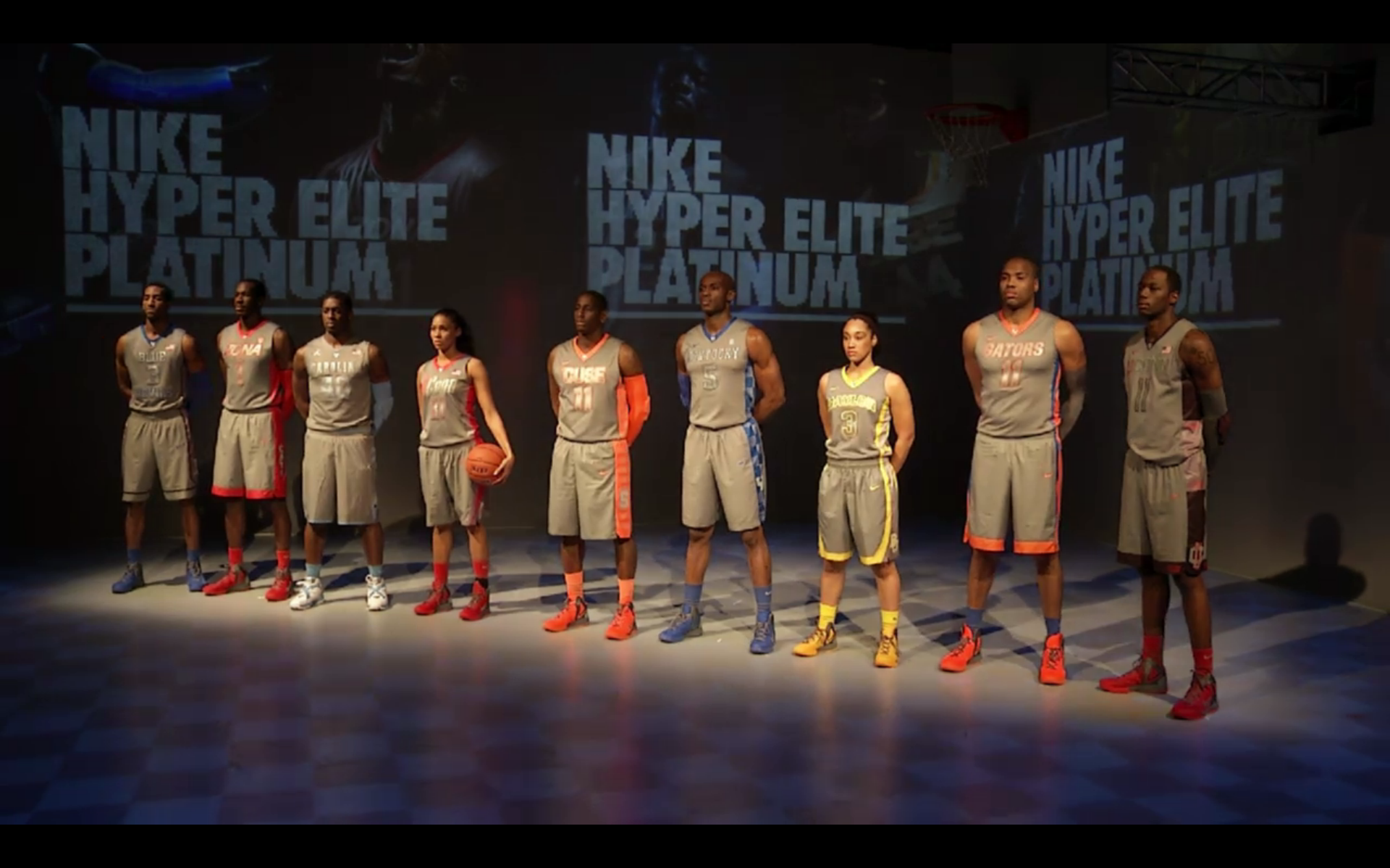 lowest price 63a46 34ecd Nike releases Hyper Elite Platinum college basketball ...