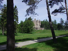 Braemar Castle from a distance