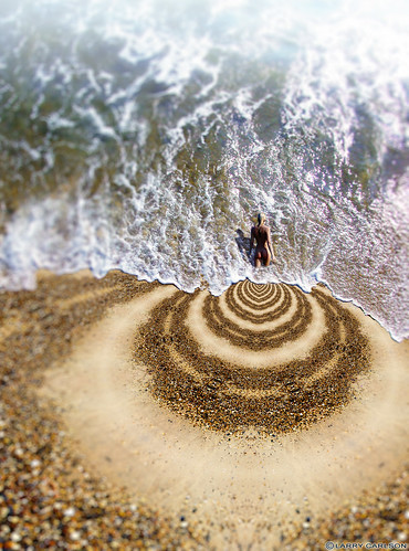 Larry Carlson, One Shore Alone, digital chromogenic print,  2011.