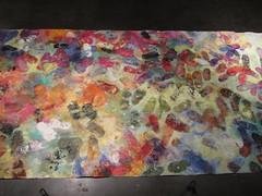 Tracks (pattisinger) Tags: souls painting tracks footprints soles installationart
