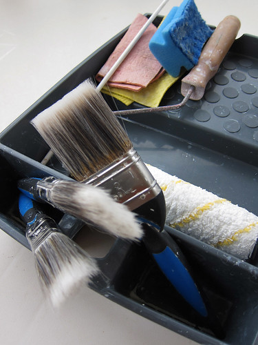 painting tools decorating brushes roller