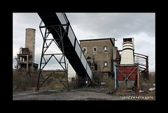 Cwm Coking Works, Beddau. (martin289) Tags: abandoned industry pits southwales empty historic mines derelict deserted industriallandscape forlorn urbex rhondda ncb beddau tynant coalfield collieries southwalescoalfield january2012 martin289 griffinimages
