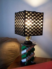 Lego Lamp 1 (PurpleSprout458) Tags: light lamp lego homemade moc