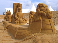 Sand Sculptures, Le Touquet, Rgion Nord-Pas-de-Calais, France (Andy_Hartley) Tags: mygearandme