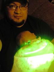 Jaundice treatment (johne_40) Tags: babies glowing dads wyoming junebug sons titus jaundice