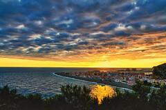 Calahonda (dubdream) Tags: ocean sunset sea orange sun seascape color clouds landscape andaluca spain sony granada calahonda a55 sonyalpha dubdream