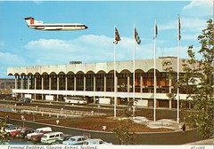 Glasgow Airport postcard 1960s (GoldScotland71) Tags: airport glasgow postcard 1960s