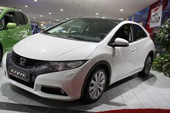 Der neue Civic (hondafugel) Tags: honda civic executive frhstck fugel