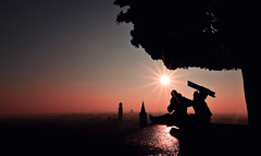 Se mi baci cadi giù (https://www.facebook.com/robertotaddeofoto28) Tags: tramonto verona micarttttworldphotographyawards micartttt michaelchee