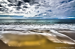 Waves of Joy (philipleemiller) Tags: seascape painterly clouds landscape hawaii surf kauai beaches pacificislands polihalestatepark magicunicornverybest trueexcellence1 topazcleanandadjust rememberthatmomentlevel1