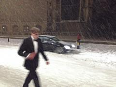 Snow in Cambridge (Sir Cam) Tags: uk cambridge snow university kingscollege bigchill 2012 sircam