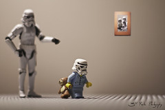 Off to Bed. (3rd-Rate Photography) Tags: brick canon toy 50mm starwars lego florida action 7d figure stormtrooper jacksonville minifig sleepyhead minifigure toyphotography series6 earlware