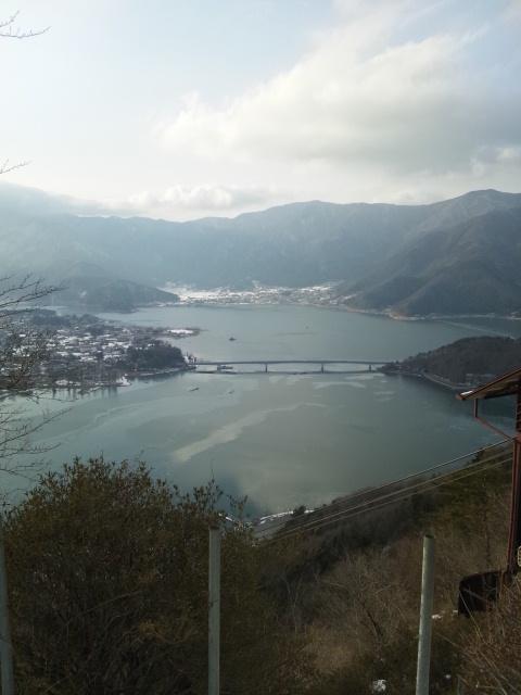 河口湖・カチカチ山の写真