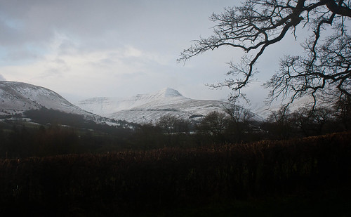Cribyn from the campsite