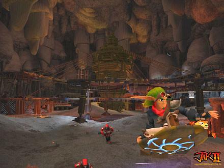 Jak II screenshot 3