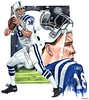 Peyton Manning (BT Illustrations) Tags: art hockey watercolor football artwork baseball nfl quarterback watercolour watercolors watercolours realism mvp indianapoliscolts peytonmanning sportsart nflart