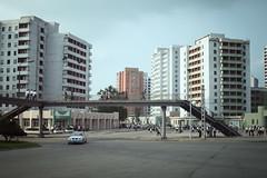 Pedestrian Bridge, Pyongyang (openbox) Tags: street buildings korea northkorea pyongyang dprk