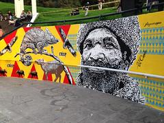 El Conde (Juegasiempre) Tags: street urban art graffiti calle stencil mural colombia arte bogot urbano popular arteurbano elconde djlu juegasiempre