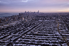 Chicago by Helicopter - January 2014, Chicago Helicopter Tours (RickDrew) Tags: road city chicago canon traffic altitude air aerial greatlakes helicopter transportation metropolis 5dmkiii chicagohelicoptertours chetourscom lakelichigan