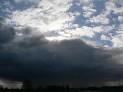 en route - East Frisia (achatphoenix) Tags: road clouds rural roadtrip enroute eastfrisia