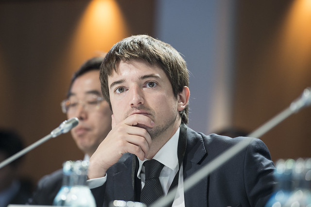 Cristian Bowen at the Closed Ministerial Session