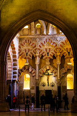La Mezquita de Crdoba - the Great Mosque-Cathedral - Maqsura screen, a;-Hakam II, 962-66 AD (peripathetic) Tags: building architecture canon buildings spain cathedral catedral mosque worldheritagesite espana mezquita 5d crdoba 2016 mezquit 5dmkiii 5dmk3 canoneos5dmk3
