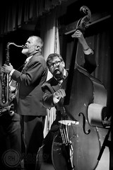 King Pleasure and The Biscuit Boys, May 2016 (Ruthie H) Tags: music musicians concert gig saxophone doublebass kingpleasureandthebiscuitboys