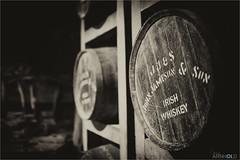 Irish gold (D.A. Lichtbilder) Tags: wood old ireland bw irish white black nikon barrel whiskey irland eire insel d750 fx schwarzweiss holz distillery grne midleton jameson fass