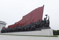 Mansudae Grand Monuments (Daniel Brennwald) Tags: korea kimjongil northkorea pyongyang dprk kimilsung nordkorea mansudae pjngjang grandmonuments