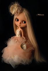 Winter Dream (Melacacia ) Tags: winter art doll december ooak creation blythe 100 artdoll custom 2011 melacacia
