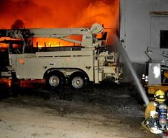 LAFD Battles Massive Blaze in El Sereno Equipment Yard (LAFD) Tags: rick lafd mcclure losangelesfiredepartment