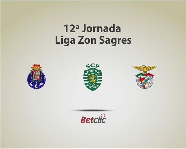 Palpites de Rua- Super Liga 12ª Jornada- Sporting Benfica Porto